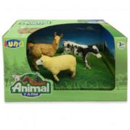 Set 3 figurine Animale Domestice Animal Farm 621047