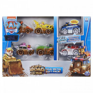 Set 6 masinute metalice Off Road True Metal Gift Pack Patrula Catelusilor
