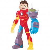 Set de joaca figurina Ben-Heatblast-Shockrock Ben 10 Omni-Glitch Heroes