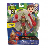 Set de joaca Heatblast Ben 10 Omni-Metallic