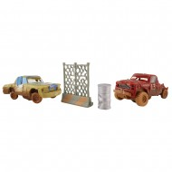 Set de joaca masinute T-Bone si Jimbo Crazy 8 Crashers Cars 3