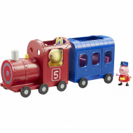 Set de joaca Miss Rabit's Train and Carriage Purcelusa Peppa