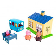 Set de joaca School and Bus Purcelusa Peppa