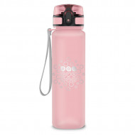 Sticla pentru apa mata Roz-Deschis Ars Una 600 ml