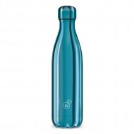 Sticla pentru apa termoizolanta Metal Blue Ars Una 500 ml