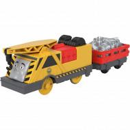 Trenulet Kevin Locomotiva Motorizata cu Vagon Thomas&Friends Track Master