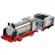 Trenulet Merlin Invizibilul Locomotiva Motorizata cu Vagon Thomas&Friends Track Master