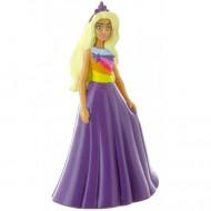Figurina Barbie in rochita mov Barbie Dreamtropia