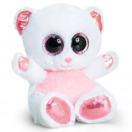 Ursulet de plus roz Animotsu Ochi Mari 15 cm