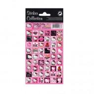 Abtibilduri mici Hello Kitty roz