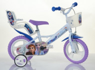 """Bicicleta cu roti ajutatoare Frozen 12"""""""