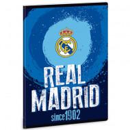 Caiet velin A5 Real Madrid albastru 40 pagini