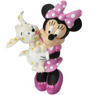 Figurina Minnie Mouse cu catel Bullyland