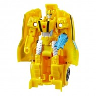 Figurina robot Bumblebee 1-Step Changer Sting Shot Transformers Cyberverse