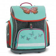 Ghiozdan ergonomic cu pereti rigizi Butterfly 41 cm