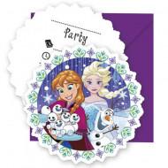 Invitatii pentru petrecere Frozen