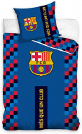 Lenjerie pat FC Barcelona 160x200 cm FCB192001