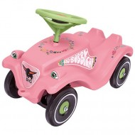 Masina fara pedale Big Bobby Classic roz D Toys