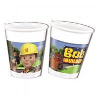 Pahare de plastic pentru petrecere Bob Constructorul