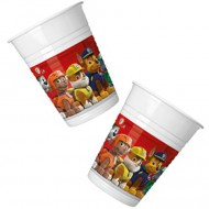 Pahare de plastic pentru petrecere Patrula Catelusilor