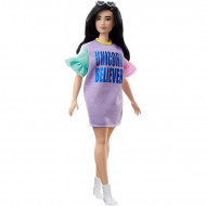Papusa Barbie in rochie Unicorn Believer Barbie Fashionistas