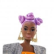 Papusa Retro Barbie cu par mov BMR1959