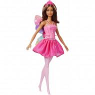 Papusa zana bruneta Barbie Dreamtopia Fairy Ballarina