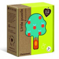 Puzzle Baby 6 in 1 Natura Clementoni