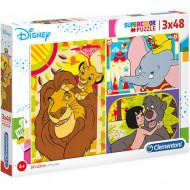 Puzzle Disney Clasic Clementoni 3x48 piese
