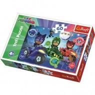 Puzzle Eroi in Pijama 60 piese