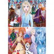 Puzzle Frozen 2 Clementoni 2x60 piese
