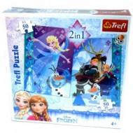 Puzzle Frozen 2 in 1