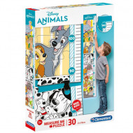 Puzzle Measure Me Disney Animals Clementoni 30 piese