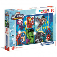 Puzzle Super Hero Adventures Clementoni 30 piese