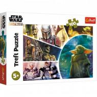 Puzzle The Mandalorian Star Wars 100 piese Trefl