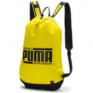 Sac de umar cu snur Puma Plus galben