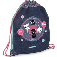 Sac de Umar Think Pink Cat Made