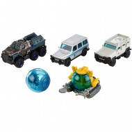 Set 5 masinute metalice Matchbox Jurasic World