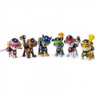 Set 6 figurine mecanice Mission Paw Patrula Catelusilor