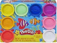Set 8 cutii plastilina curcubeu Play Doh