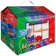 Set creativ de stampile in cutie Eroi in Pijama