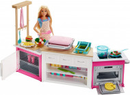 Set de joaca Bucatarie interactiva Ultimate Kitchen Barbie