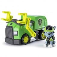 Set de joaca Rocky si masina de reciclare Mission Paw Patrula Catelusilor