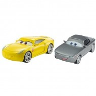 Set de masinute metalice Cruz Ramirez si Sterling Disney Cars 3