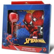Set jurnal secret si accesorii Spiderman 5 bucati