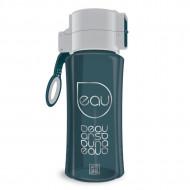 Sticla pentru apa verde - gri otel Ars Una 450 ml