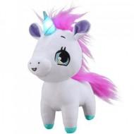 Unicorn de plus interactiv Wish Me roz 23 cm