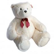 Urs de plus Harry alb 120 cm