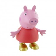 Figurina Peppa in bocanci Purcelusa Peppa