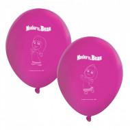 Baloane de petrecere Masha and the Bear, 8 bucati